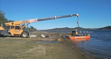 Dam & Weir Work