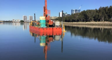 Geotechnical Drilling Nearshore (2)